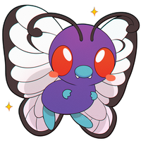 ChibiDex: #012 Butterfree