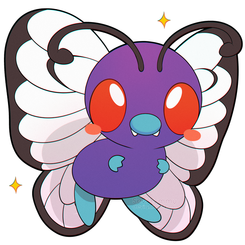 ChibiDex: #012 Butterfree by SeviYummy