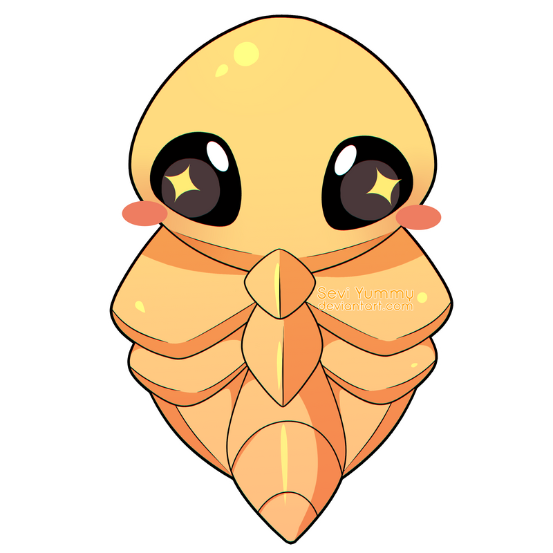 ChibiDex: #014 Kakuna by SeviYummy