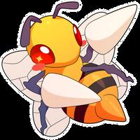 ChibiDex: #015 Beedrill by SeviYummy