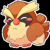 ChibiDex: #016 Pidgey by SeviYummy
