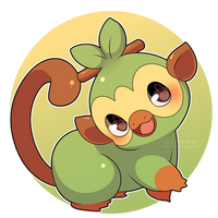 Grookey (New Pokemon Starter!) by SeviYummy