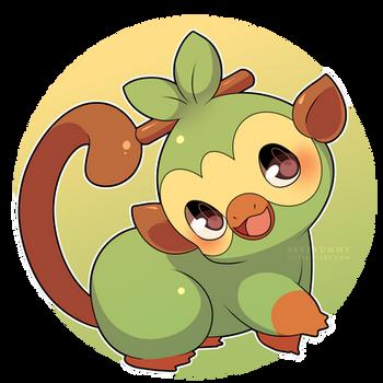Grookey (New Pokemon Starter!)