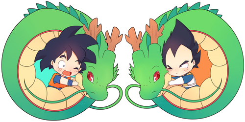 [COMMISSION] Goku and Vegeta