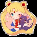 [SPEEDPAINT] Serena and Luna [COMM]