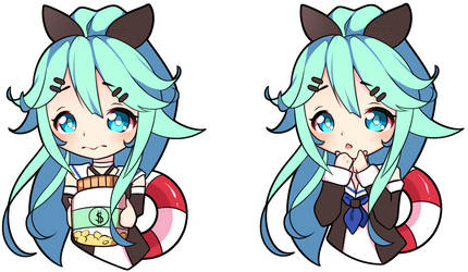 [COMMISSION] Chibis for Twitch panels