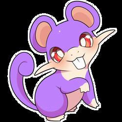 ChibiDex: #019 Rattata
