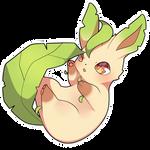 ChibiDex: #470 Leafeon