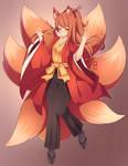 [COMMISSION] Kitsune by SeviYummy