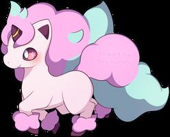 [COMMISSION] Galarian Ponyta