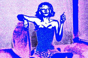 Cornflower Blue Girl by lyyn