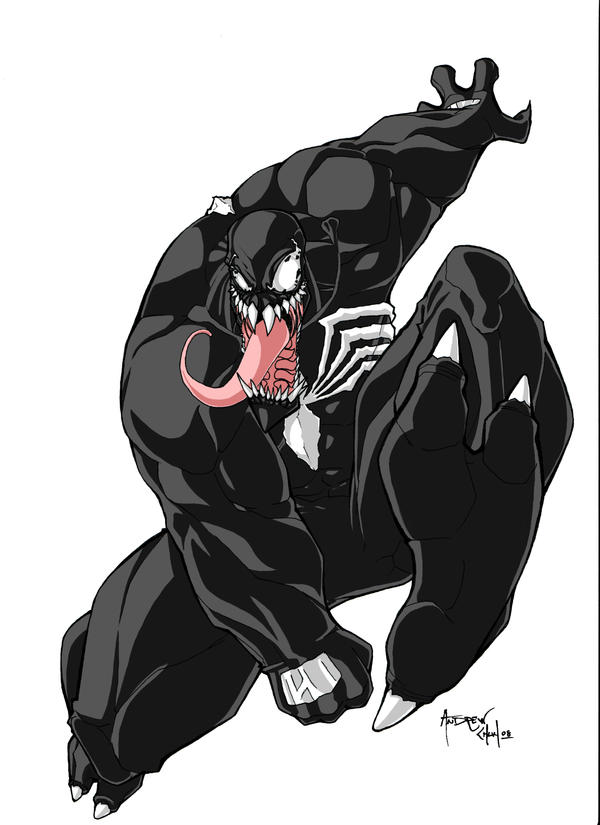 venom colored by Hybrid-7