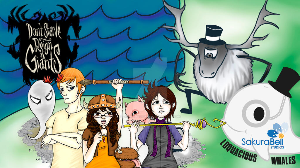 Don't Starve Together with My Friends by SakuraBellStudios