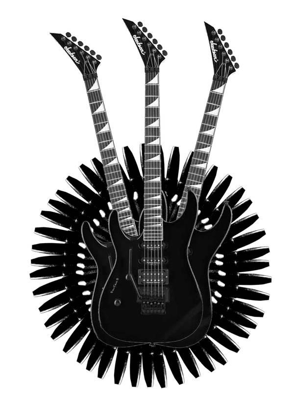 Jackson Guitars by CyberChristFF