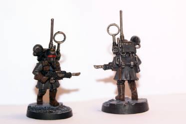 Steel Legion HQ Vox Trooper