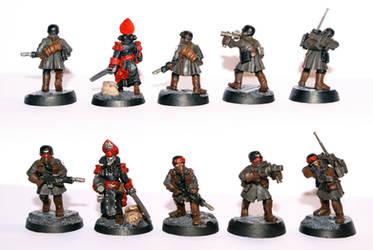 Steel Legion Command Squad