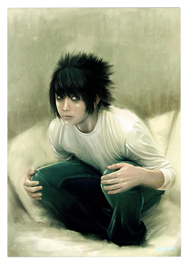 L - death note by keronetex