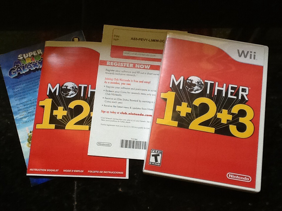 MOTHER 1+2+3 physical version by pokemar