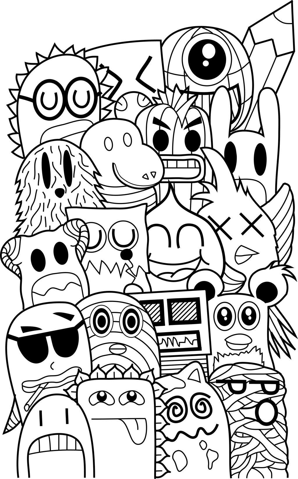 Doodle Friends By Byfrankkk On DeviantArt