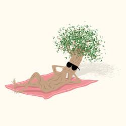 The Summer Tree by byfrankkk