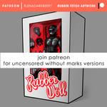 Patreon Rubberdoll by ElenaDarkBerry
