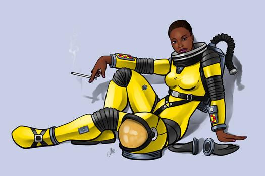 Yellow astronaut commission