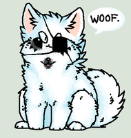 Woof a woof by Wulcanis
