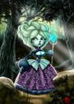 la dama del bosque v/  the lady of the forest by DavidLazzuri