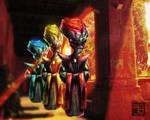 Alien Oracle Priests