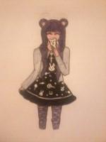 Kawaii Girl by lulabellex