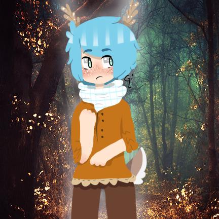 Deer Boy Oc by WickedTsune