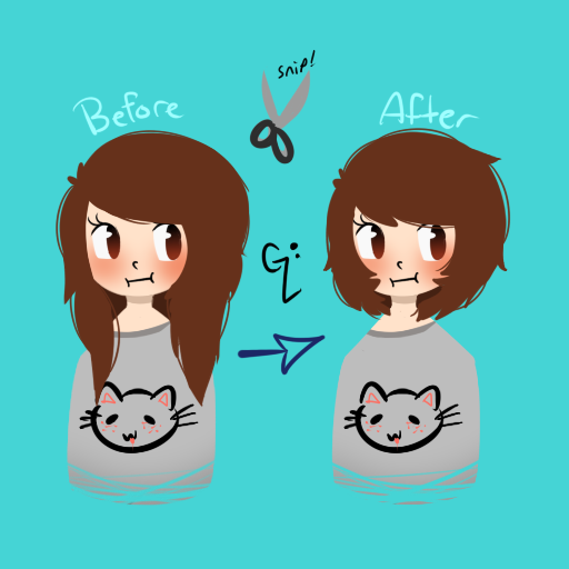 Future Haircuttin by WickedTsune