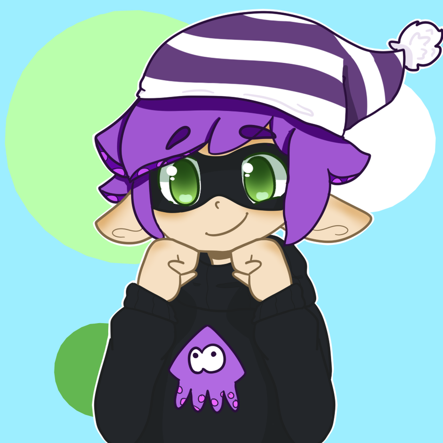 Squiddy boy for the one kid by WickedTsune