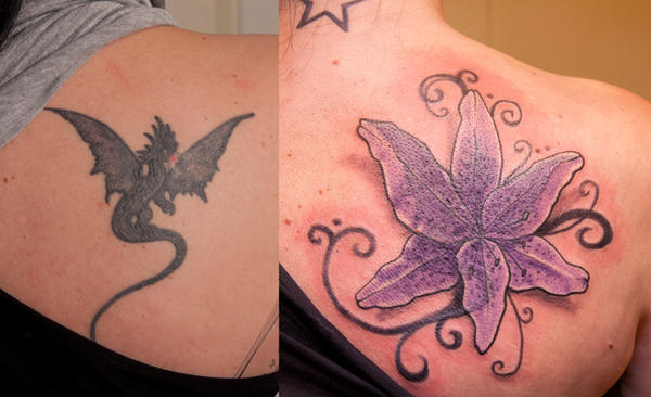 Dragon lily by tpenttil on deviantart for Dragon lily tattoo