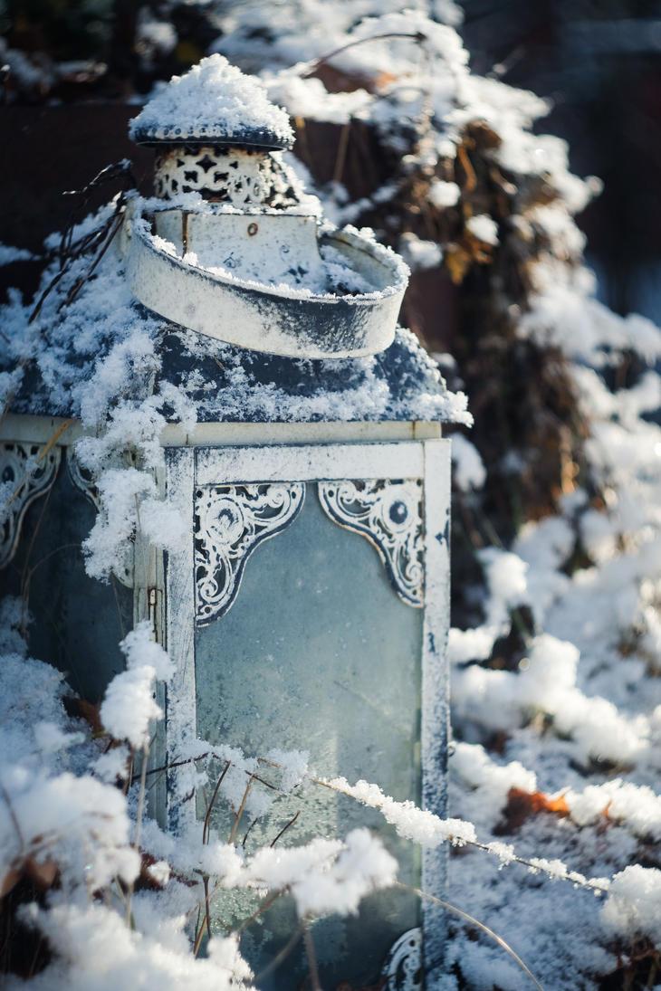 Winter lantern by tpenttil