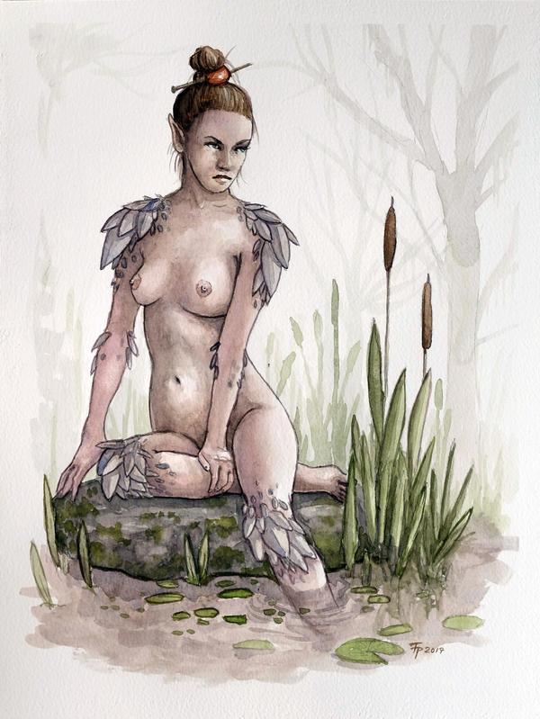 Swamp lady by tpenttil