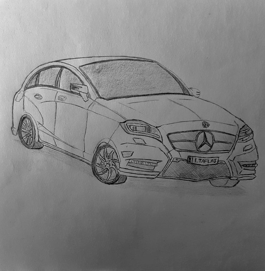 how to draw a mercedes benz amg