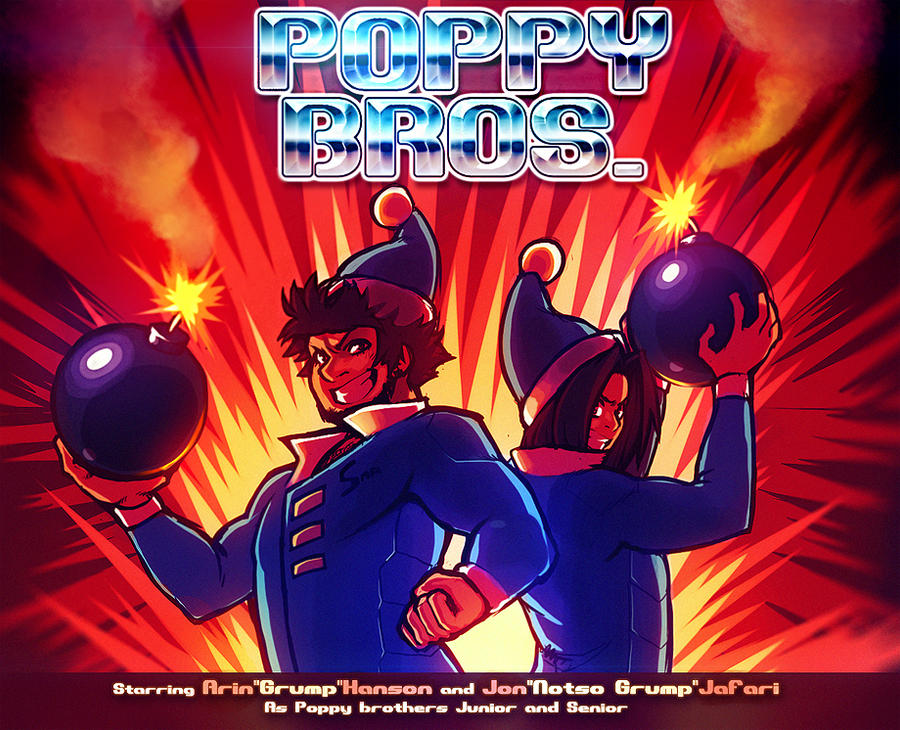 POPPY BROS: THE SERIES:THE GAME:THE MOVIE:THE GAME by ModeSeven
