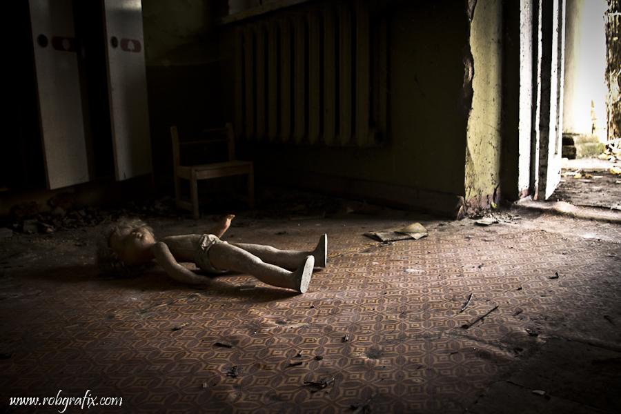 Chernobyl kindergarten by Robgrafix
