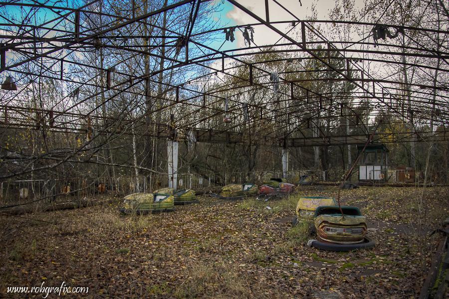 Chernobyl Pripyat Funfair by Robgrafix