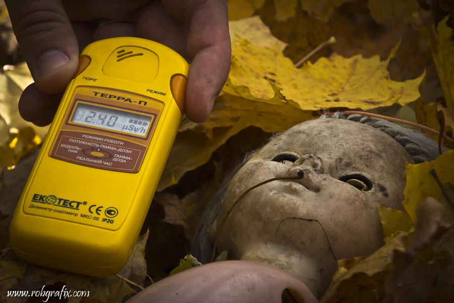 Chernobyl kindergarten Giger count by Robgrafix