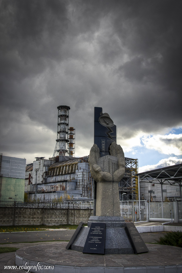 Chernobyl Reactor Number 4 by Robgrafix on DeviantArt