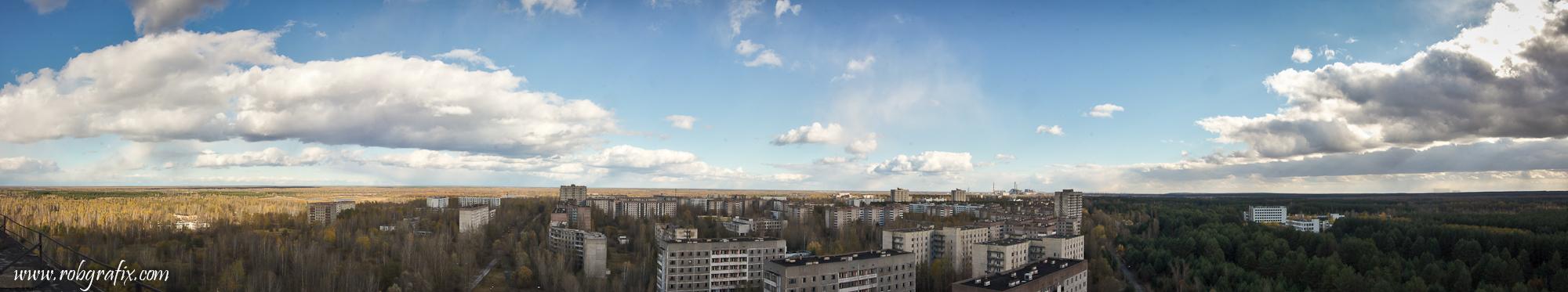 Chernobyl/pripyat 2012 Panorama by Robgrafix