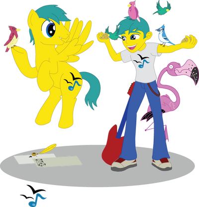 MLP OC - Feather Note by Tiger-Hawk