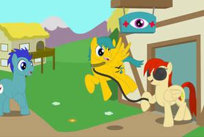MLP OC - Seeing Eye Pony
