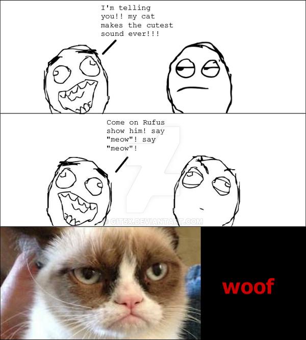 Grumpy dog by git5x