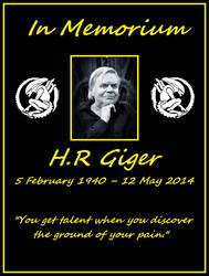 HRGiger Memorial by Teasealot
