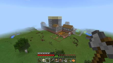 Minecraft Build (in progress) by Teasealot