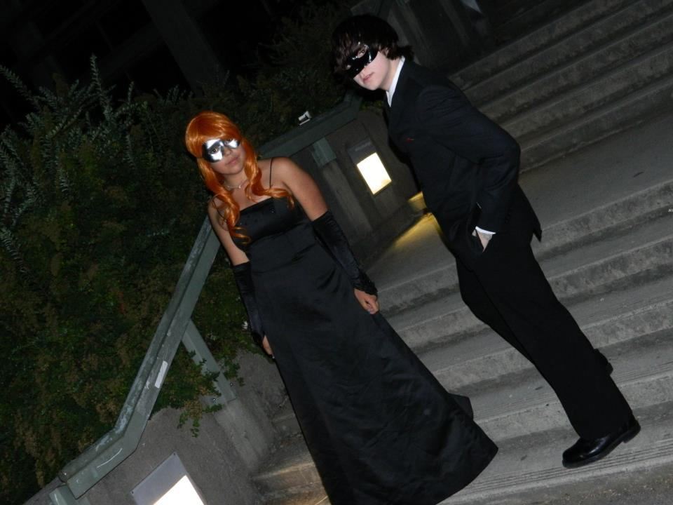 Lily and James attending the Yule Ball: Masquerade by Kaamen