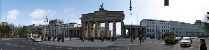 Brandenburger Tor panorama by StaP1